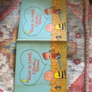 "Vintage Accents - 1st ed, "" Youre  in love Charlie Brown"""
